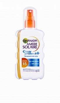 Garnier Ambre Solaire Zonnebrand Clear Spray Factor(spf)15 200ml