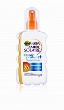 Garnier Ambre Solaire Zonnebrand Clear Spray Factor(spf)30 200ml