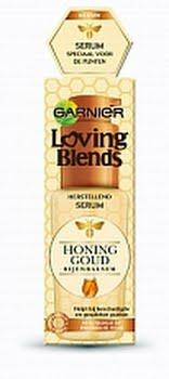 Garnier Loving Blends Honinggoud Serum Voor Beschadigd Of Breekbaar Haar 50ml