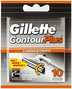 Gillette Contour Plus Scheermesjes 10stuks