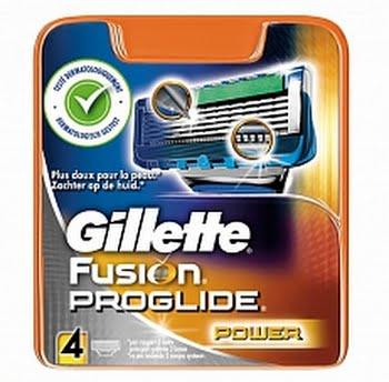 Gillette Fusion Proglide Power Scheermesjes 4 mesjes