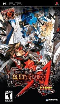 Guilty Gear XX Accent Core Plus (Sony PSP)
