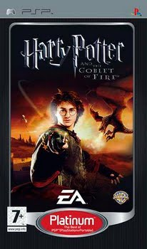 Harry Potter the Goblet of Fire (platinum) (Sony PSP)