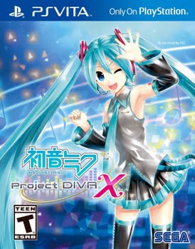 Hatsune Miku Project Diva X (PS Vita)