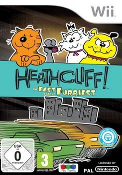 Heathcliff The Fast & The Furriest (Nintendo Wii)