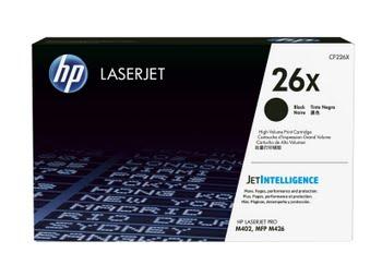 HP 26X originele high-capacity zwarte LaserJet tonercartridge