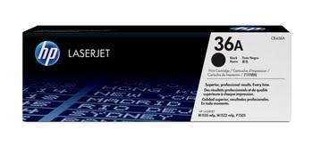 HP 36A originele zwarte LaserJet tonercartridge