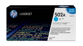 HP 502A originele cyaan LaserJet tonercartridge