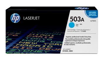 HP 503A originele cyaan LaserJet tonercartridge