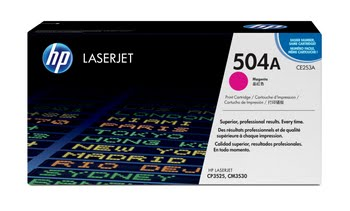 HP 504A originele magenta LaserJet tonercartridge
