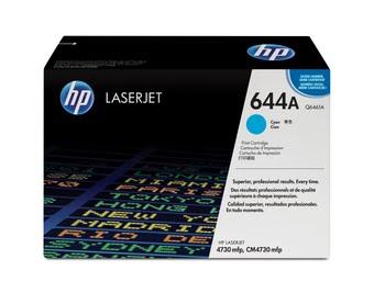 HP 644A originele cyaan LaserJet tonercartridge