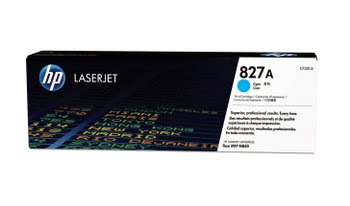 HP 827A originele cyaan LaserJet tonercartridge