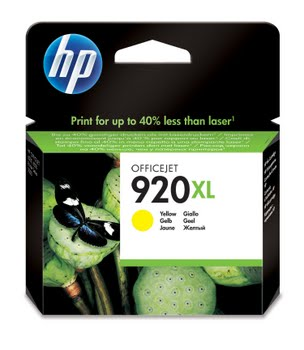 HP 920XL originele high-capacity gele inktcartridge