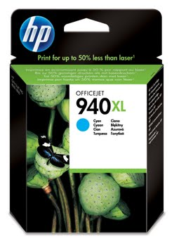 HP 940XL originele high-capacity cyaan inktcartridge