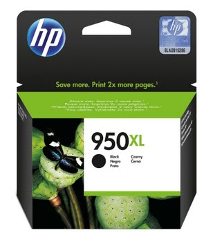 HP 950XL originele high-capacity zwarte inktcartridge