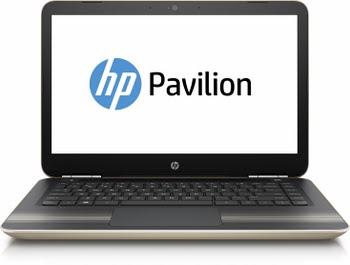 "HP Pavilion 15-au140nd 2.4GHz i3-7100U 15.6"" 1920 x 1080Pixels Goud, Zwart Notebook"
