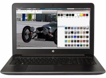 "HP ZBook 15 G4 2.8GHz i7-7700HQ 15.6"" 1920 x 1080Pixels Zwart Mobiel werkstation"