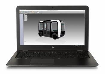 "HP ZBook 15u G4 2.70GHz i7-7500U 15.6"" 1920 x 1080Pixels Zwart Mobiel werkstation"