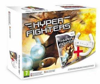 Hyper Fighters + Flight Controller (Bundel) (Nintendo Wii)