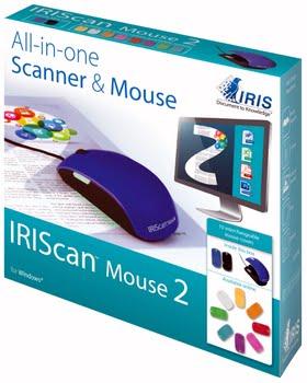 I.R.I.S. IRISCan Mouse 2 Mouse scanner 300 x 300DPI A3 Zwart, Blauw