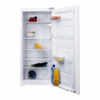 Inventum IKK1221S Ingebouwd 204l A++ Roestvrijstaal, Wit koelkast
