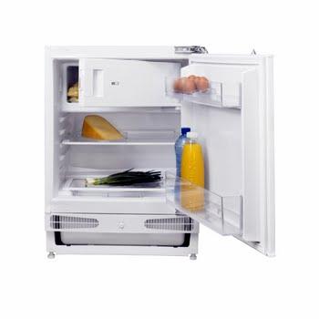 Inventum IKV0821D Ingebouwd 115l A+ Wit combi-koelkast