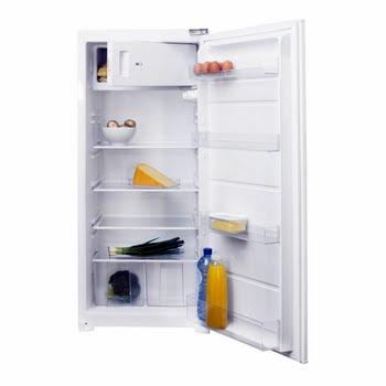 Inventum IKV1221S Ingebouwd 192l A++ Roestvrijstaal, Wit combi-koelkast