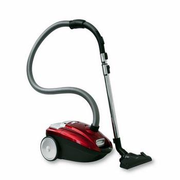 Inventum ST306RZA Cilinderstofzuiger 3l 700W A Zwart, Rood stofzuiger