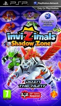 Invizimals Shadow Zone (Sony PSP)