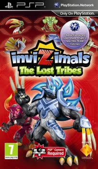 Invizimals The Lost Tribes (Sony PSP)