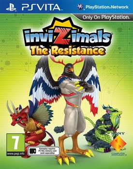 Invizimals the Resistance (PS Vita)