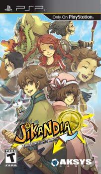 Jikandia the Timeless Land (Sony PSP)