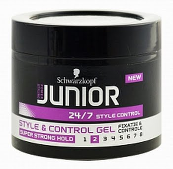 Junior Power Styling Style and Control Gel Super Strong Level 2 150ml