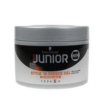 Junior Power Styling Styln Freeze Gel 200ml