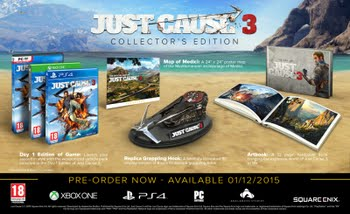 Just Cause 3 (Collector's Edition) (Xbox One)