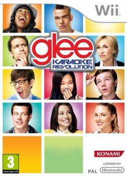 Karaoke Revolution Glee + Microphone (Nintendo Wii)