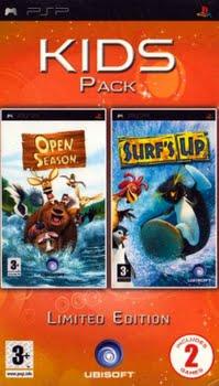Kids Pack (Baas in Eigen Bos + Surf's Up) (Sony PSP)