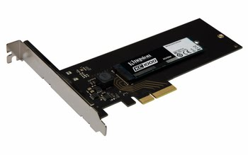 Kingston Technology KC1000 NVMe PCIe SSD 480GB, HHHL PCI Express 3.0