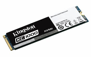 Kingston Technology KC1000 NVMe PCIe SSD 960GB, M.2 PCI Express 3.0