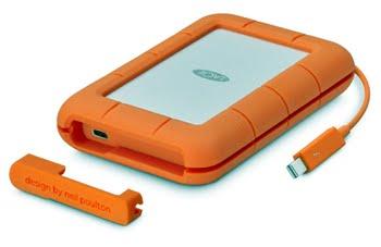 LaCie Rugged 1000GB Oranje externeharde schijf