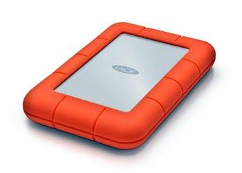 LaCie Rugged Mini, 2TB USB Type-A 3.0 (3.1 Gen 1) 2000GB Oranje