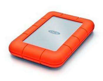 LaCie Rugged Mini USB Type-A 3.0 (3.1 Gen 1) 4000GB Oranje