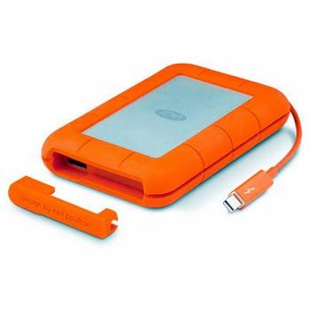 LaCie Rugged RAID USB Type-A 3.0 (3.1 Gen 1) 4000GB Oranje, Zilver