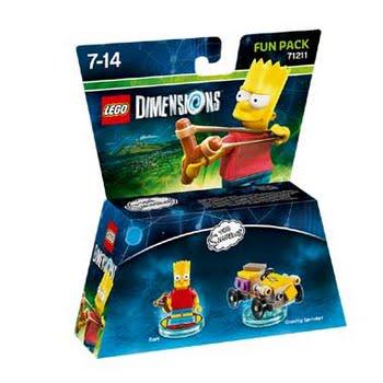 LEGO Dimensions Bart Simpson Fun Pack