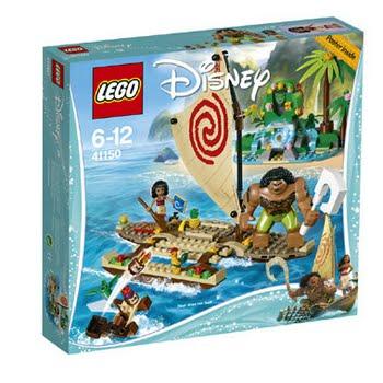 LEGO Disney Princess Vaiana's oceaanreis 41150