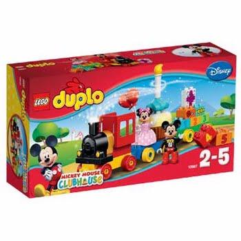 LEGO DUPLO Mickey & Minnie: verjaardagsoptocht 10597
