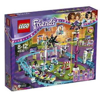 LEGO Friends pretpark achtbaan 41130
