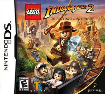Lego Indiana Jones 2 The Adventure Continues (Nintendo DS)
