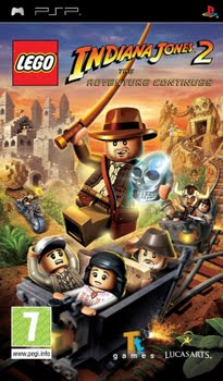 Lego Indiana Jones 2 The Adventure Continues (Sony PSP)