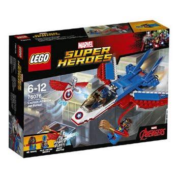 LEGO Marvel Super Heroes Captain America jet-achtervolging 76076